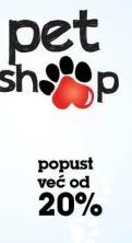 Pet Shop popust već od 20%