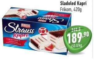 Sladoled kapri