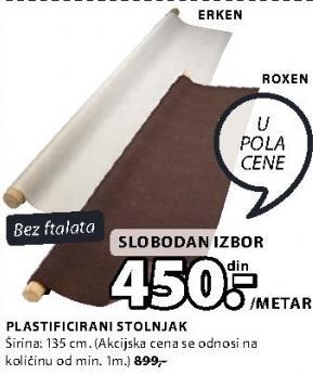 Plastificirani stolnjak