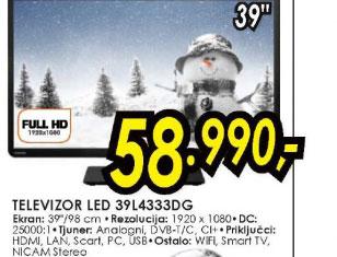Televizor LED LCD 39L4333DG