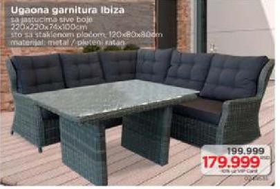 Ugaona garnitura Ibiza
