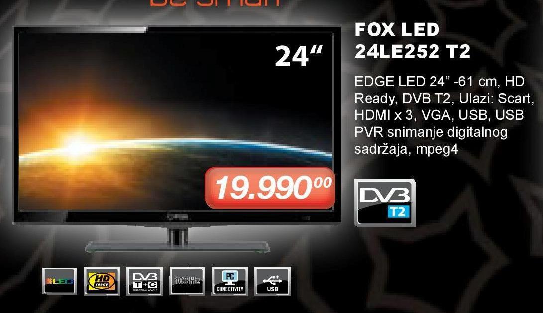 "Televizor LED 24"" 24LE252"