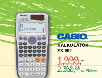 Kalkulator FX 991, CASIO
