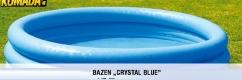 Bazen ''Cristal blue'', 147x33cm