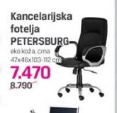 Kancelarijska fotelja Petersburg