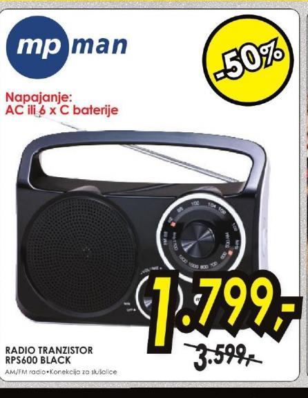Radio tranzistor RPS600