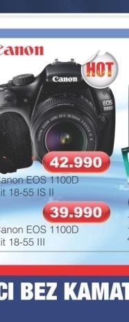 Fotoaparat Digitalni EOS 1100D Kit 18-55 III