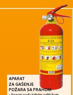 Aparat za gašenje požara S-3A