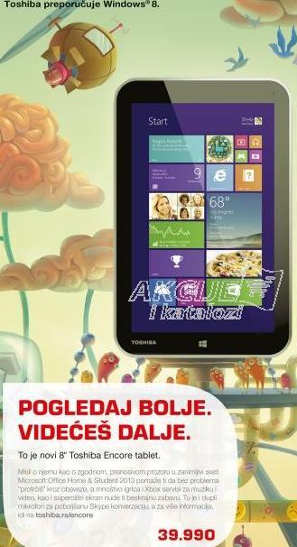 Tablet Encore WT8-A-102 - PDW09E-001019Y4
