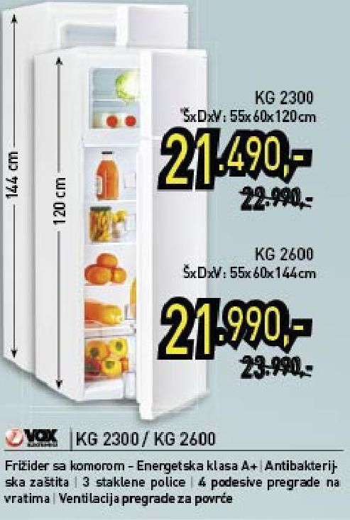 Frižider Kg2300