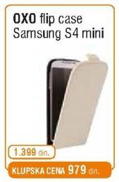 Flip Case Oxo Samsung S4 Mini