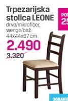 Trpezarijska stolica LEONE