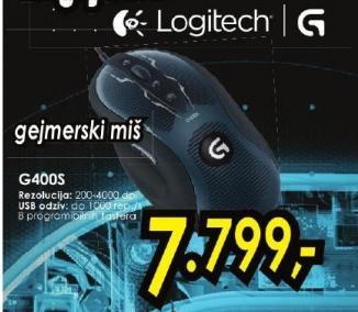 Gejmerski miš G400S