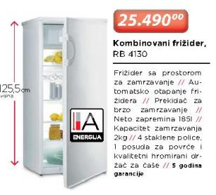 Kombinovani frižider RB4130