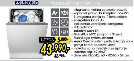 Sudo Mašina ESL5201LO