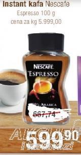 Kafa instant espresso