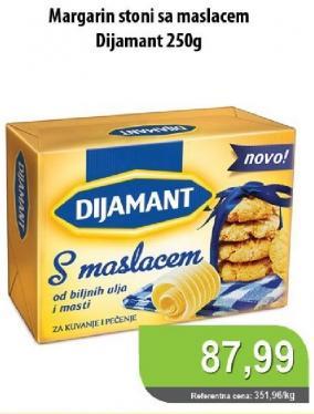 Stoni margarin sa maslacem