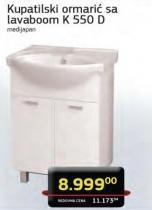 Kupatilski ormarić sa lavaboom K550D