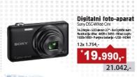Digitalni foto aparat DSC-WX60 Crni