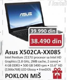Laptop X502CA-XX085