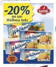 20% popusta na Wellness keks
