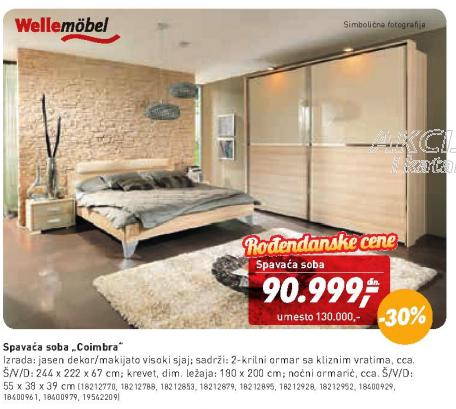 Spavaća soba Coimbra