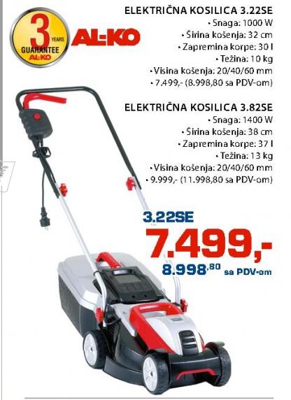 Električna Kosilica 3.82SE