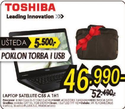 Laptop Satellite C55-A-1H1
