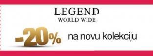 20% popusta u radnji Legend na novu kolekciju