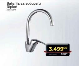 Baterija za sudoperu