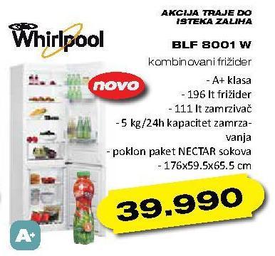 Frižider BLF 8001 W
