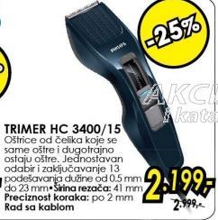 Trimer Hc 3400/15