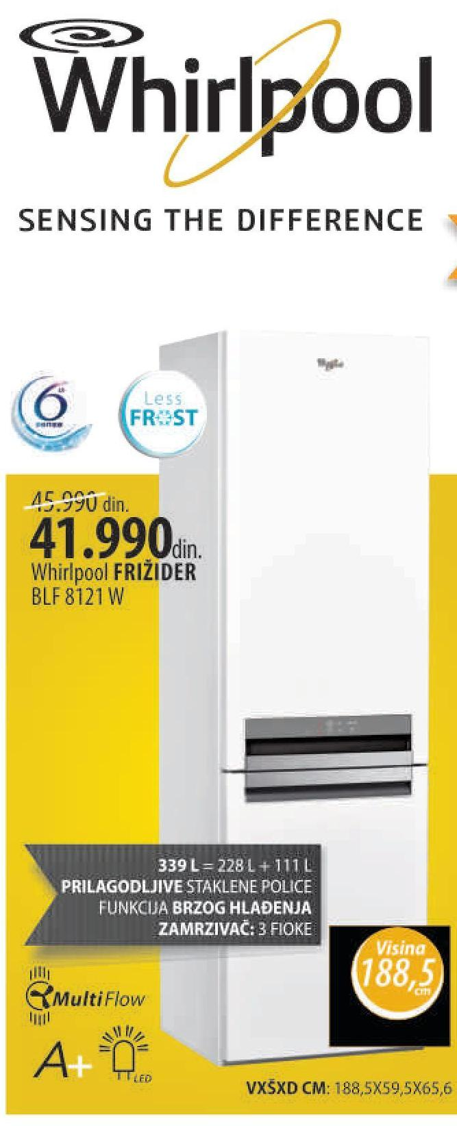 Frižider BLF 8121 W