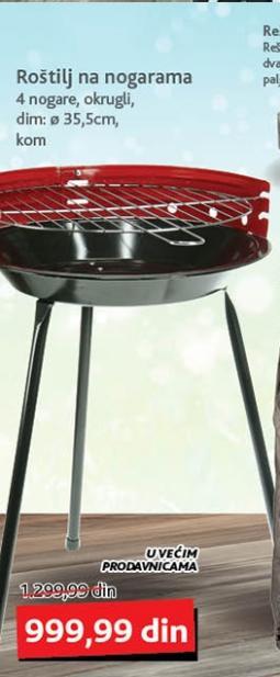 Okrugli metalni roštilj