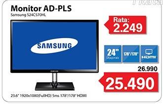 """Monitor AD-PLS LED  24"""" S24c570hl"""