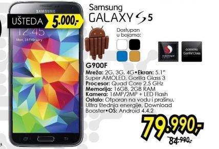 Mobilni telefon GalaxyS5 G900f