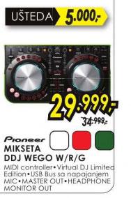 Mikseta DDJ-WEGO-R