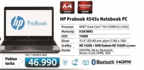 Laptop ProBook 4545S