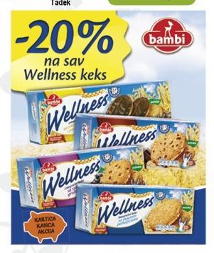 20% popusta na sav Wellness keks