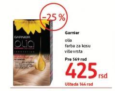 Farba za kosu Garnier olia