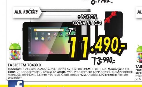 Tablet TM-7043XD
