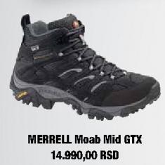 Zimske cipele MERREL Moab Mid GTX