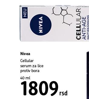 Cellular serum za lice protiv bora