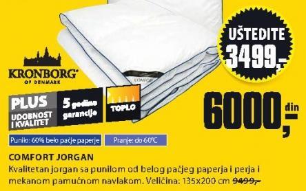Jorgan Comfort 135x200