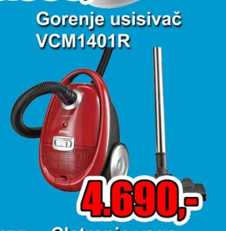 Usisivač VCM 1401 R