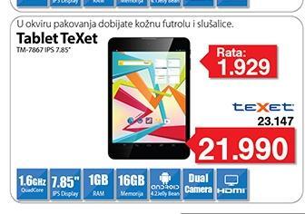 """Tablet TM-7867 IPS 7.85"""""""
