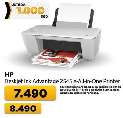 Multifunkcijski uređaj DeskJet Ink Adventage 2545e