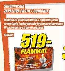 Sigurnosna zapaljiva pasta Gorionik Flammat