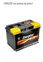 Akumulator 60Ah, Energizer