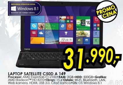 Laptop Satellite C500d A 149